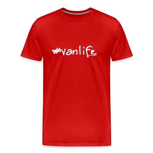vanlifewhite png - Men's Premium T-Shirt