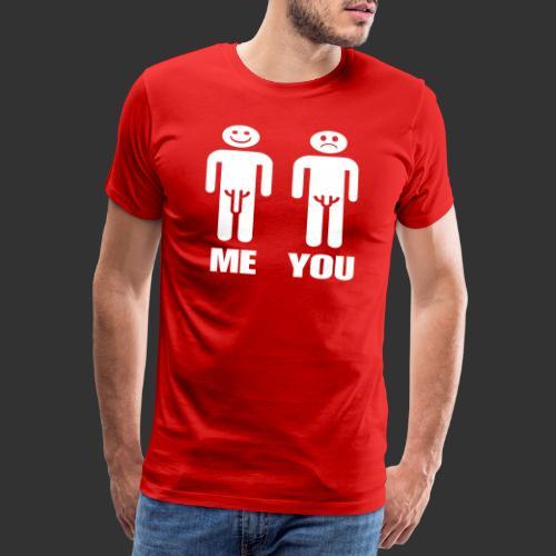 Me and You - Premium-T-shirt herr