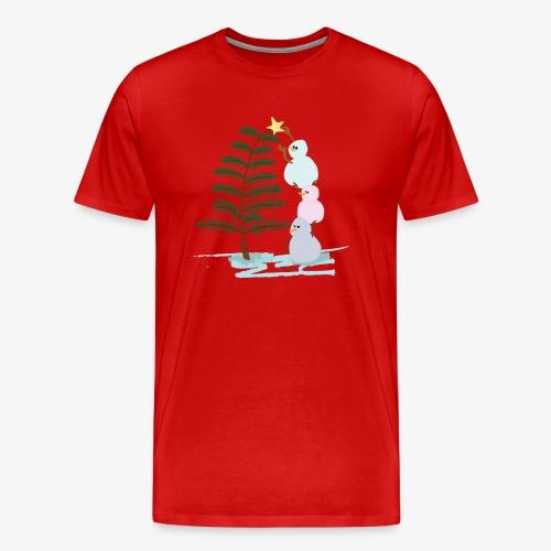 3bonhommesdeneige - Men's Premium T-Shirt