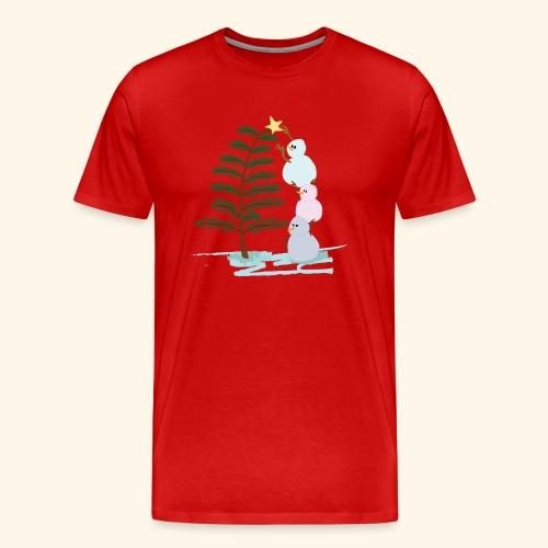 3bonhommesdeneige - T-shirt Premium Homme
