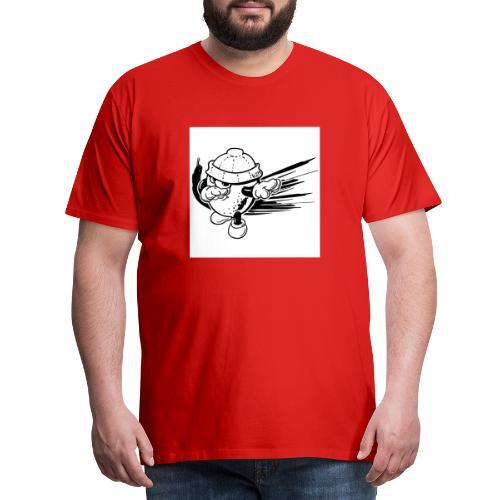citron dab noir et blanc - T-shirt Premium Homme