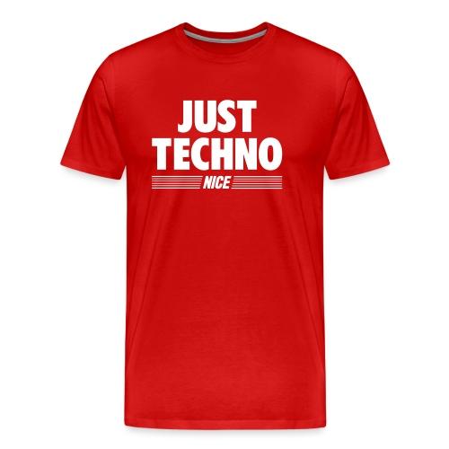 Just techno - Men's Premium T-Shirt