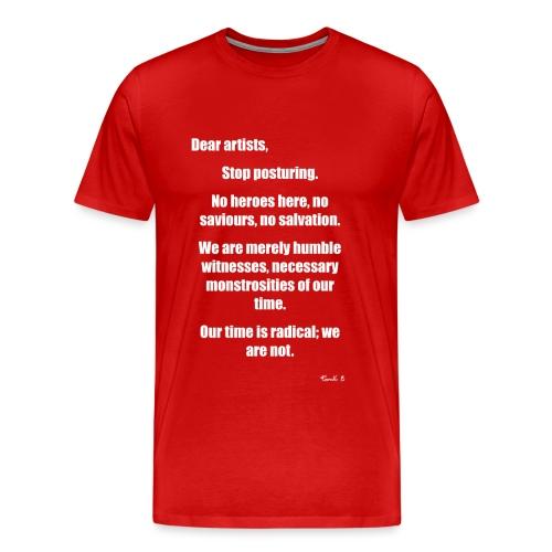 dear artists - Men's Premium T-Shirt