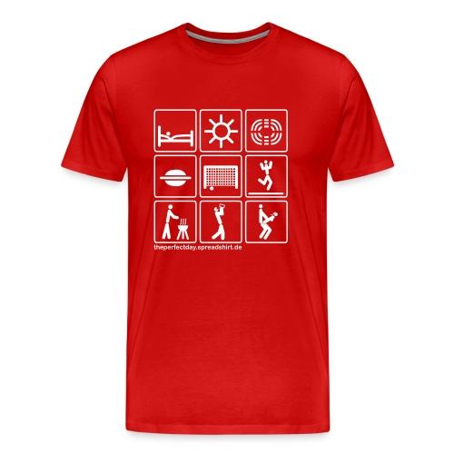 Fussball_stadion - Männer Premium T-Shirt