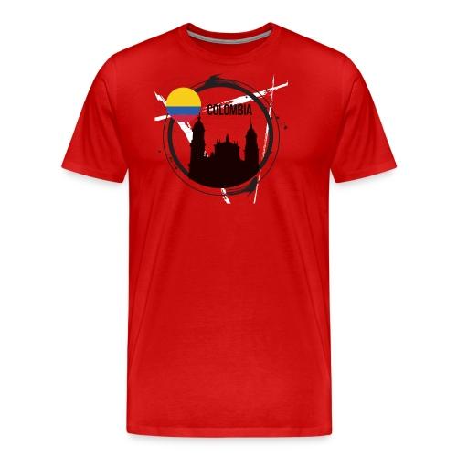 Kolumbien T-Shirt - Männer Premium T-Shirt