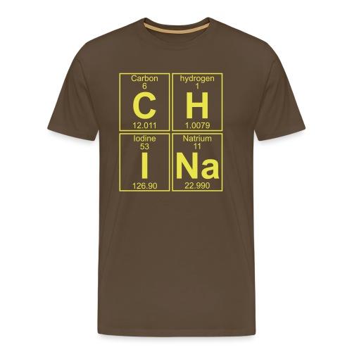 C-H-I-Na (china) - Full - Men's Premium T-Shirt