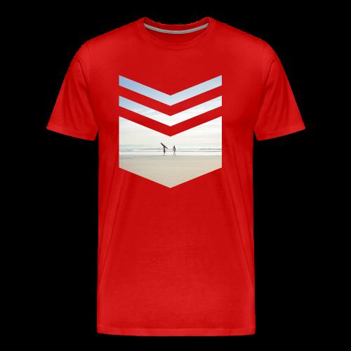 Surf Beach Triangle - Männer Premium T-Shirt