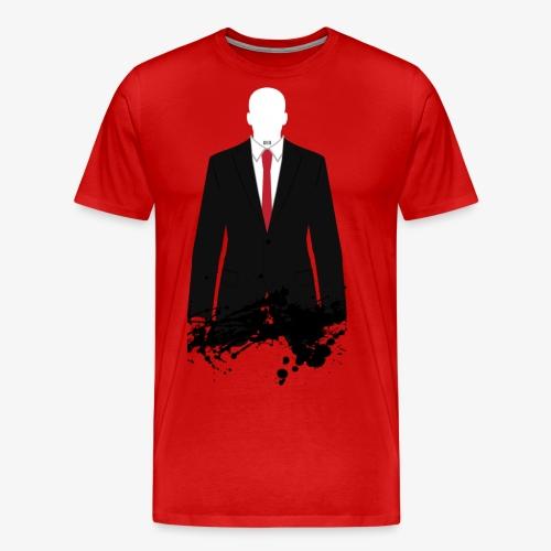 The Hitman - Black Stain - Men's Premium T-Shirt