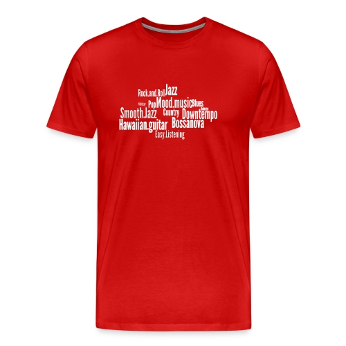 House Music Genres - Men's Premium T-Shirt