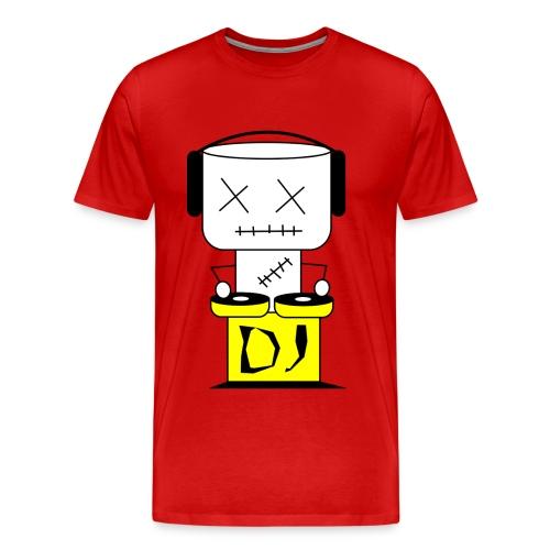 DJ Puppet XL - Männer Premium T-Shirt