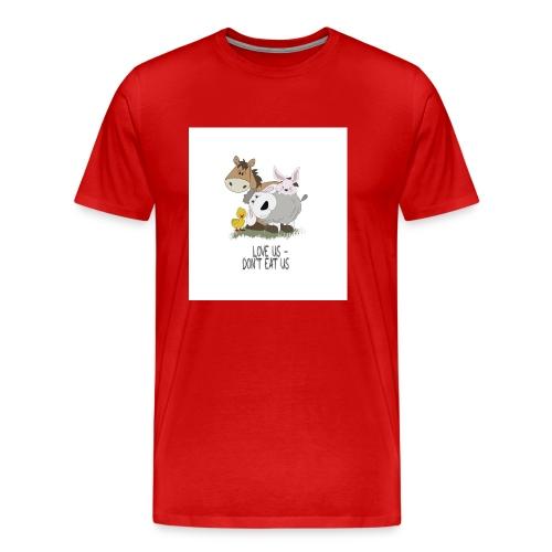 Love Us - Männer Premium T-Shirt