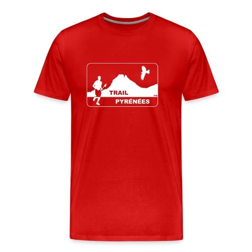Trail Pyrénées V4 - T-shirt Premium Homme