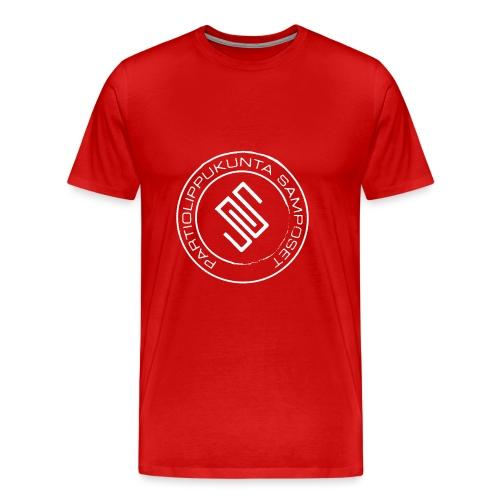 Leima läpinäkyvä - Miesten premium t-paita