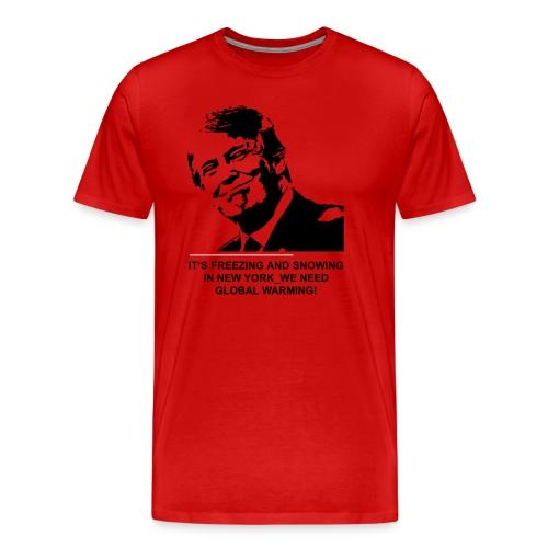 global_warming2 - Männer Premium T-Shirt