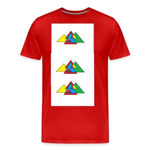 Design triangle - T-shirt Premium Homme