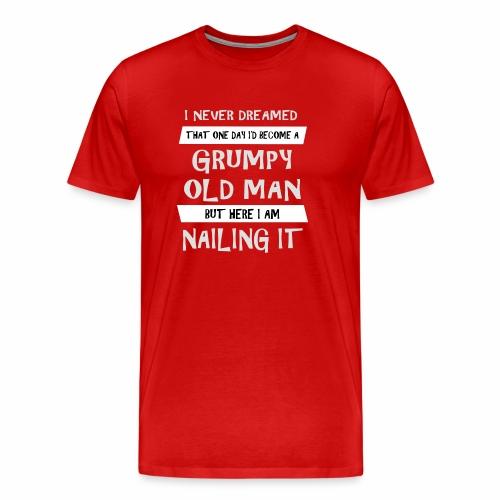Grumpy 2 - Herre premium T-shirt