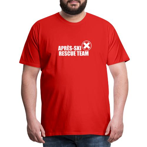 APRÈS SKI RESCUE TEAM 2 - Mannen Premium T-shirt
