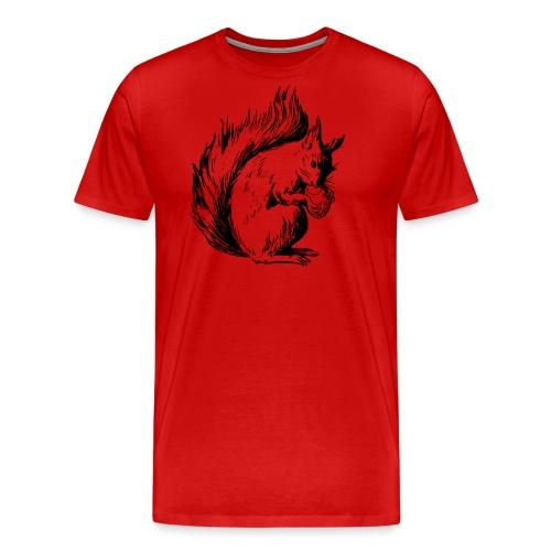 écureuil amandes - T-shirt Premium Homme