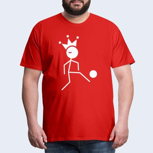 Voetbalkoning - Mannen Premium T-shirt