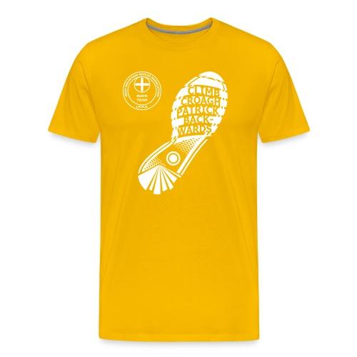 Climb Croagh Patrick Back - Men's Premium T-Shirt