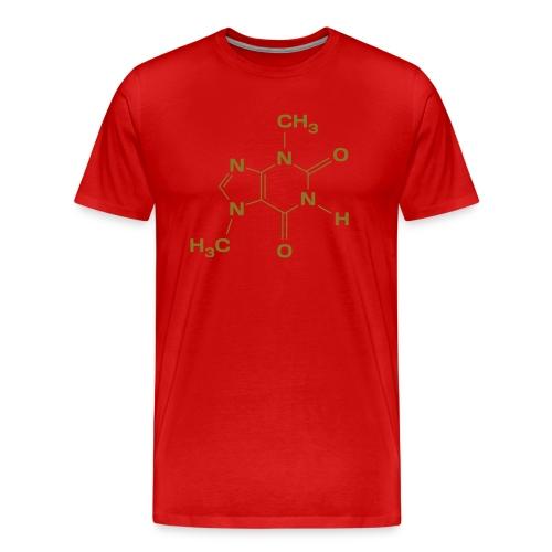 Chocolate Molecule - Männer Premium T-Shirt