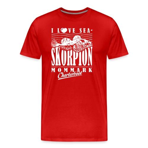 Skorpion Sternzeichen Fishing Shirt - Männer Premium T-Shirt