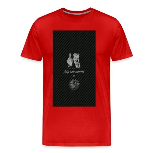 a93 - Männer Premium T-Shirt