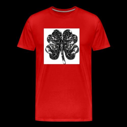 Czterolistna konczynka - Koszulka męska Premium