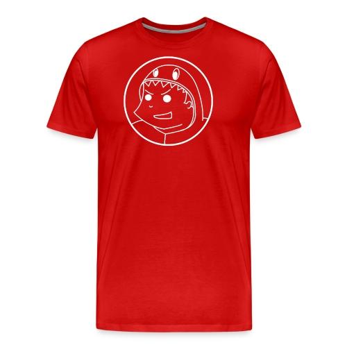 Big logo White2 png - Men's Premium T-Shirt