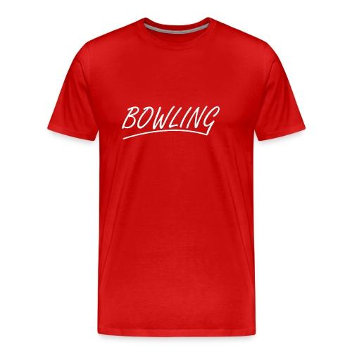 Bowling souligné - T-shirt Premium Homme