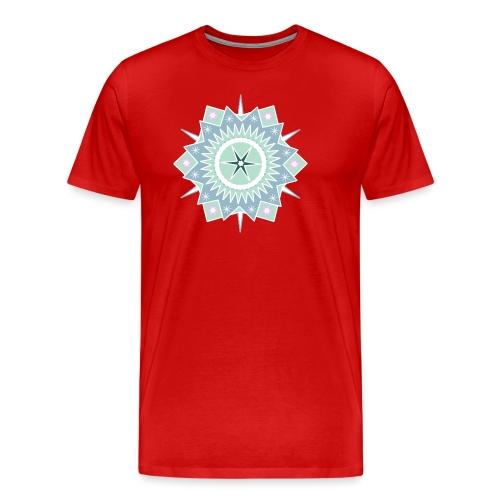 Weihnachtlicher Stern - Männer Premium T-Shirt