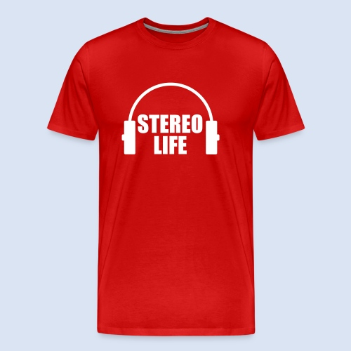 STEREO LIFE - Männer Premium T-Shirt