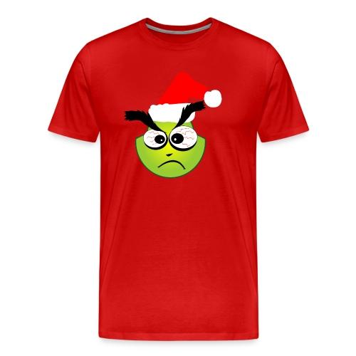 Grinchy - Maglietta Premium da uomo