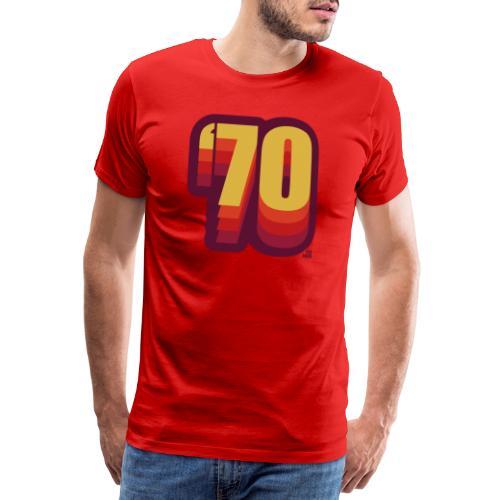 70 red shift - Männer Premium T-Shirt