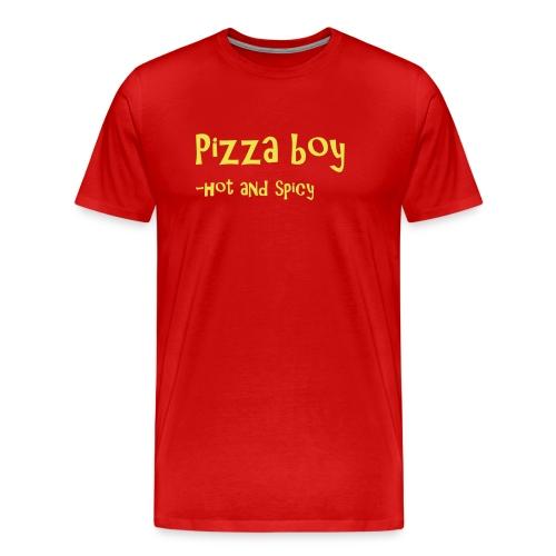 Pizza boy - Premium T-skjorte for menn