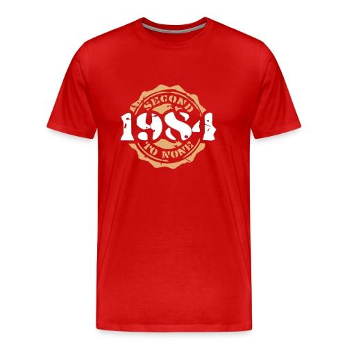 1984 Second to None - Männer Premium T-Shirt