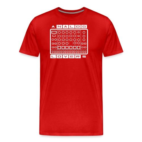 Analog Lovers - Maglietta Premium da uomo
