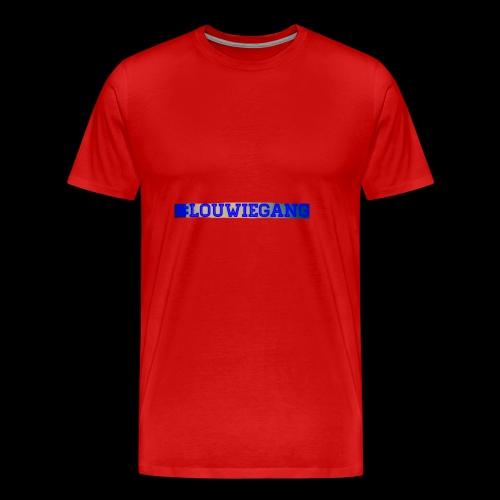 Louwie gang - Premium-T-shirt herr