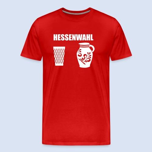 Hessenwahl Apfelwein - Männer Premium T-Shirt