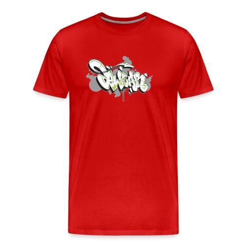 Mesk 2Wear graffiti style 7up ver02 - Herre premium T-shirt
