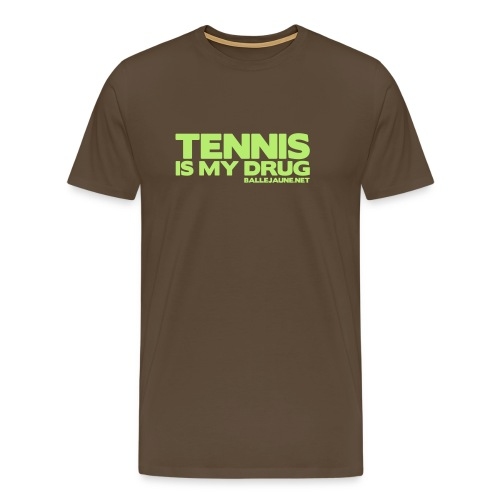 tennis is my drug3 - T-shirt Premium Homme