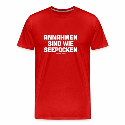 Seepocken - Männer Premium T-Shirt