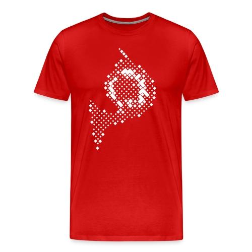 Waldhorn fuers Tshirt white png - Männer Premium T-Shirt