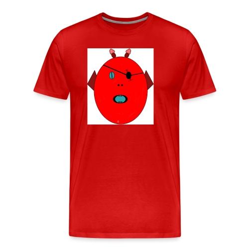 The red monster - Premium-T-shirt herr