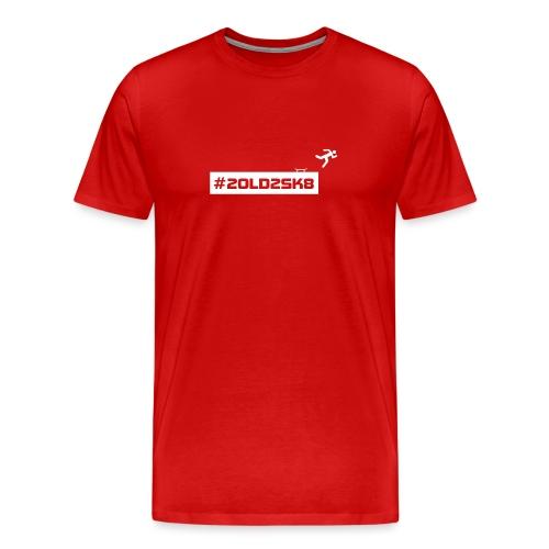 #2old2skate - Men's Premium T-Shirt
