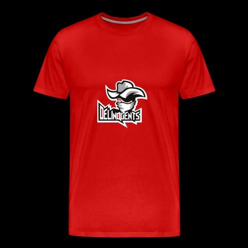 Delinquents TriColor - Herre premium T-shirt