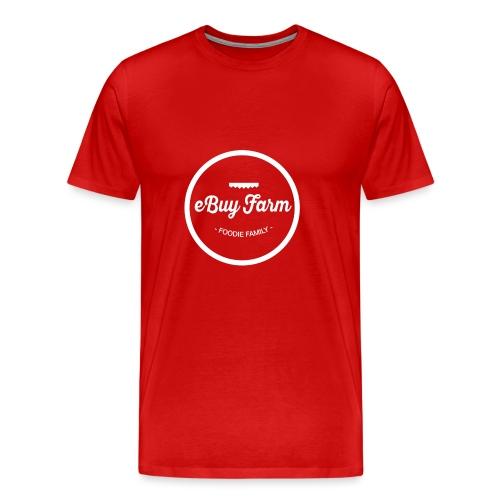 Logo Pecho eBuyFarm - Camiseta premium hombre