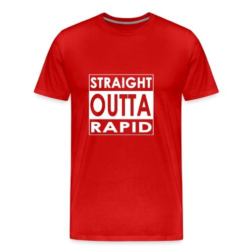 Outta vui rapid - Männer Premium T-Shirt
