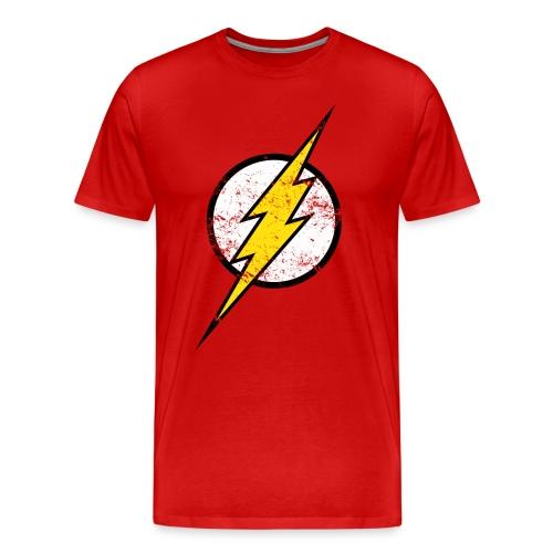 DC Comics Justice League Flash Logo - Männer Premium T-Shirt