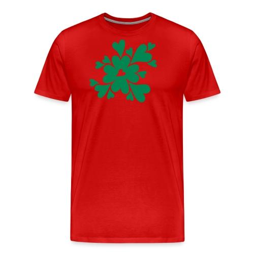 HJÄRTAN - Premium-T-shirt herr